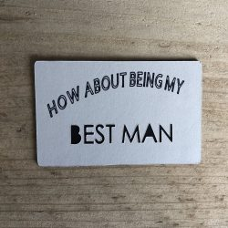 How About Being My Best Man - Magnet
